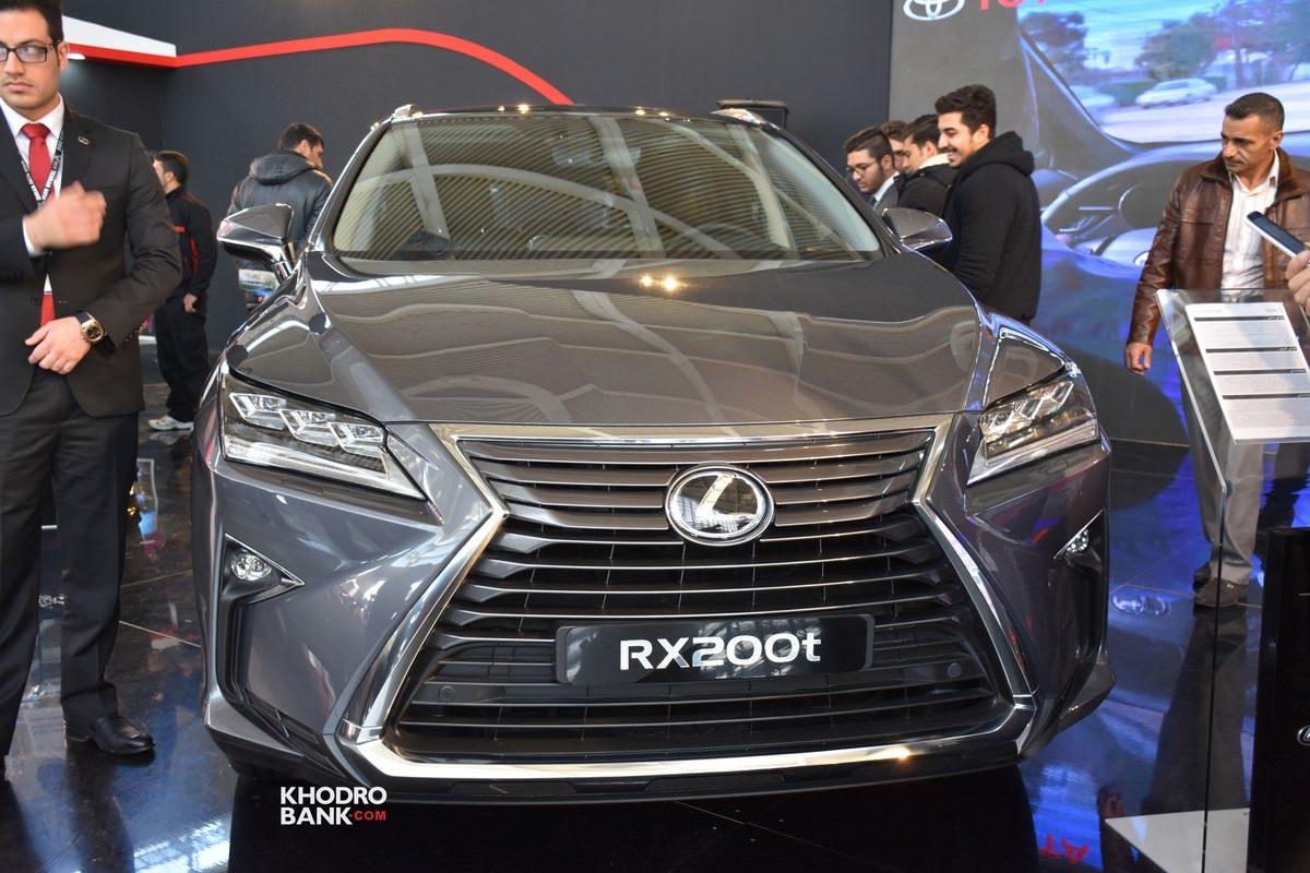 حضور «لکسوس RX200t» شاسیبلند لوکس در نمایشگاه خودرو